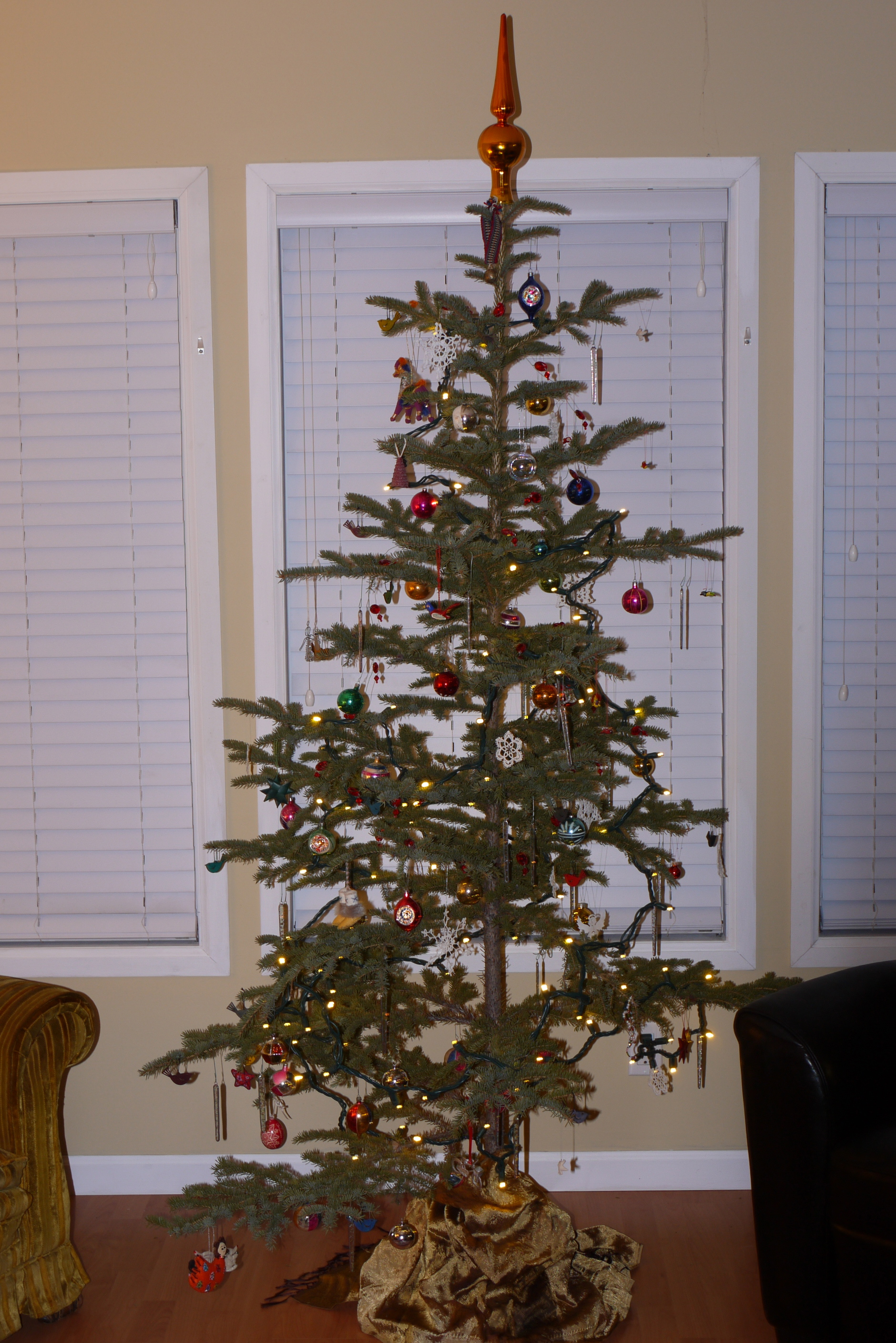 my traditional charlie brown christmas tree the song i live by