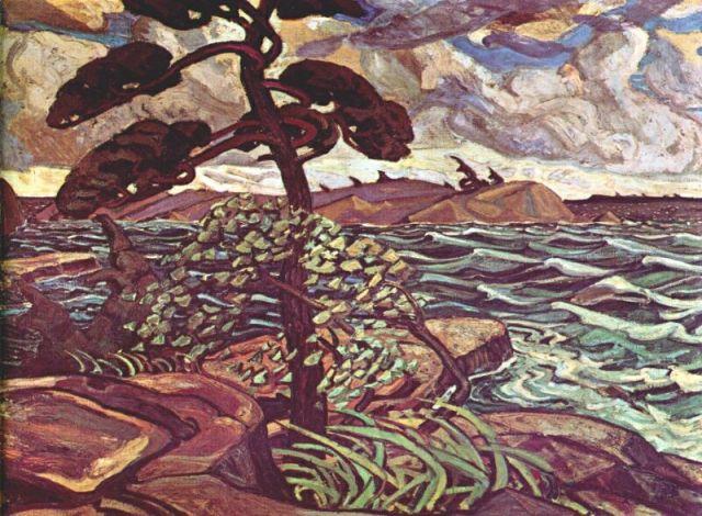A September Gale, by Arthur Lismer