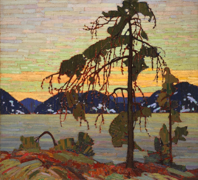 The Jack Pine, by Tom Thompson