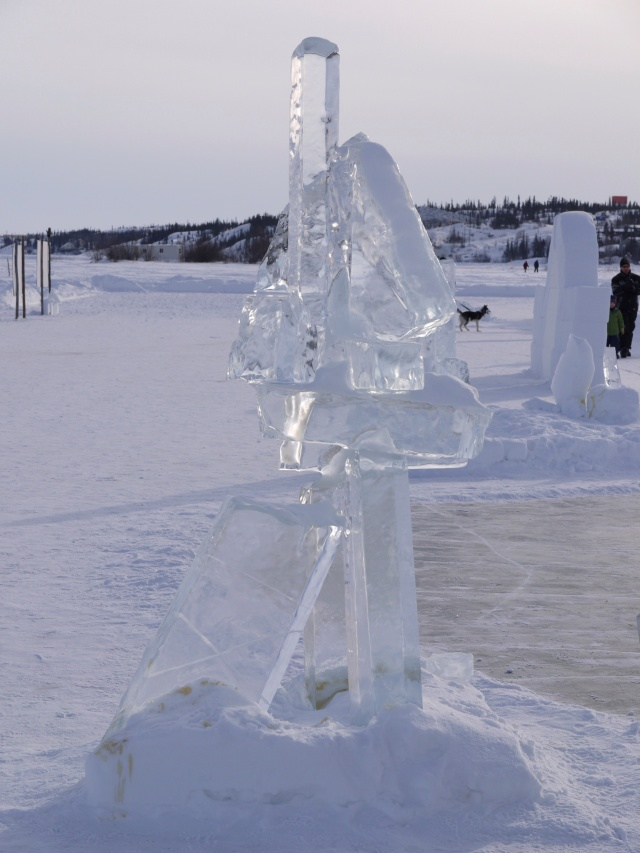 A sculpture from the Ice Garden