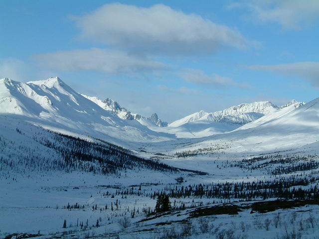 Tombstone Valley, off the Dempster. I have hiked here and its spectacular.