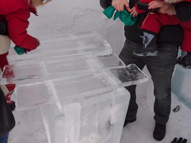 Ice xyolophone