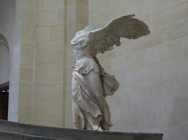 Winged Victory, the Louvre