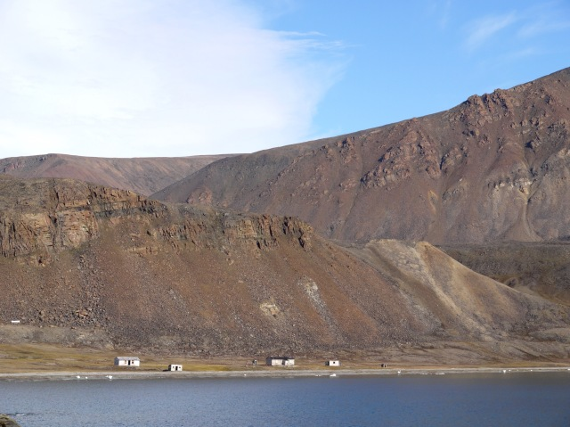 RCMP outpost on Devon Island
